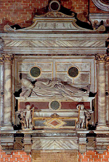 Tomb of Bishop Jacopo Pesaro