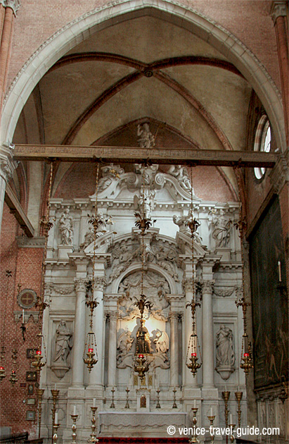 Basilica dei Frari Altar of St. Anthony