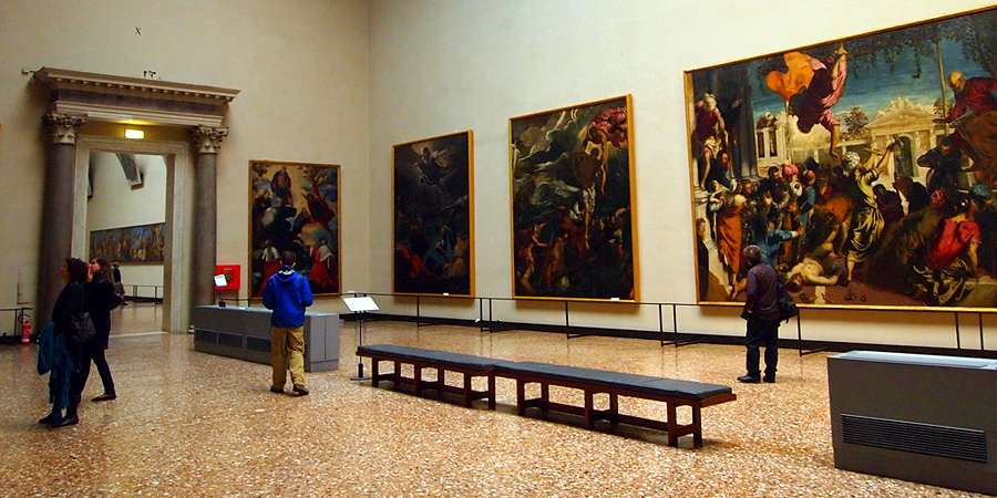 Accademia museum gallery