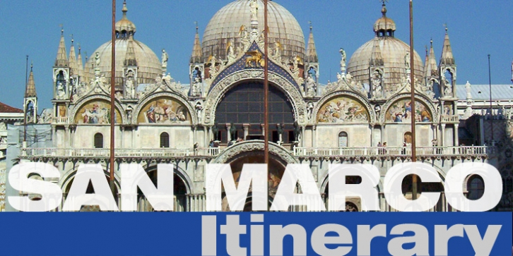San Marco Itinerary.